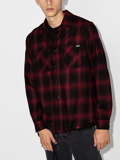 Core Shadow plaid shirt