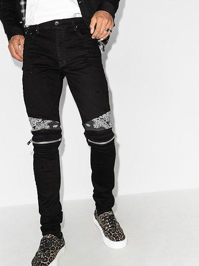 MX2 bandana skinny jeans