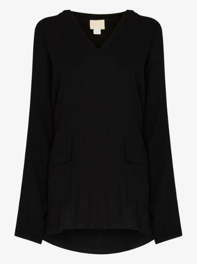 hooded mini dress