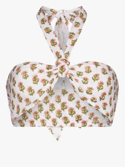 Lubina floral print bralette
