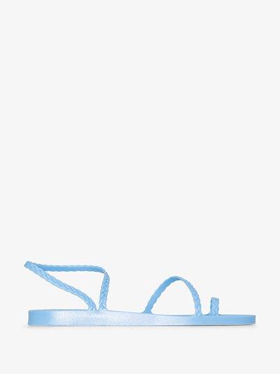 blue Eleftheria rubber sandals