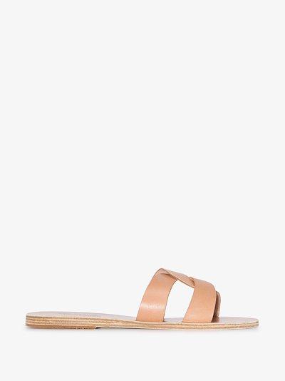neutral Desmos leather sandals