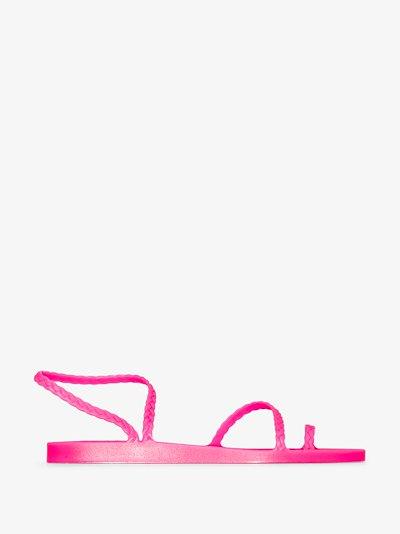 pink Eleftheria Rubber Sandals