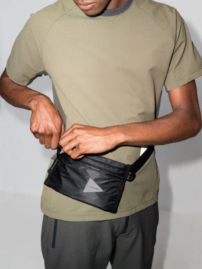 Black Sil secret cross body bag