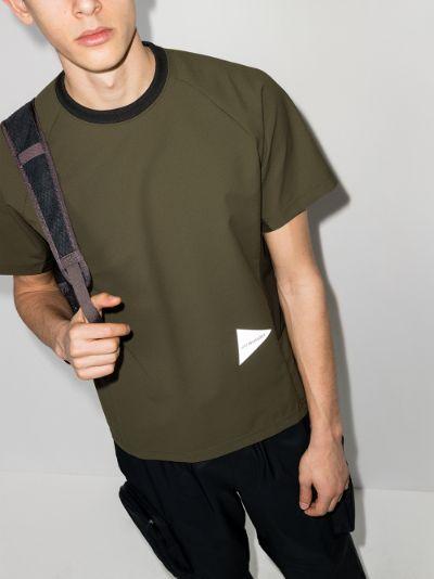 green Hybrid Base Layer T-shirt