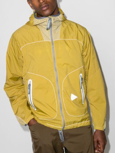 Weave windbreaker jacket