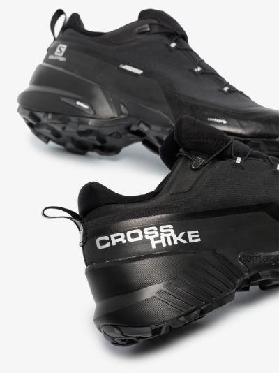 X Salomon black Crosshike sneakers