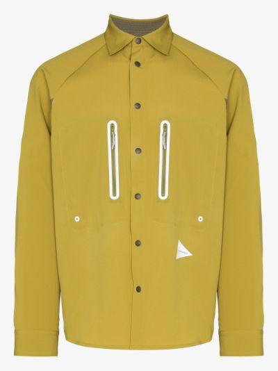 yellow technical shirt
