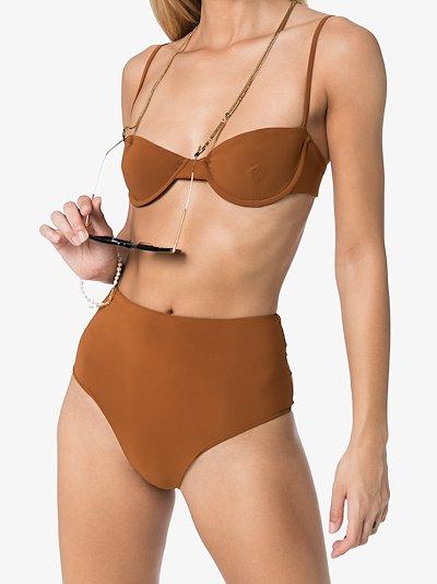 balconette bikini top