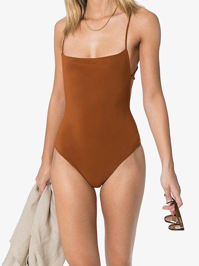 K.M. tie swimsuit