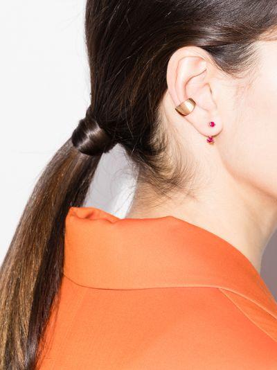 18K rose gold Galaxy ear cuff