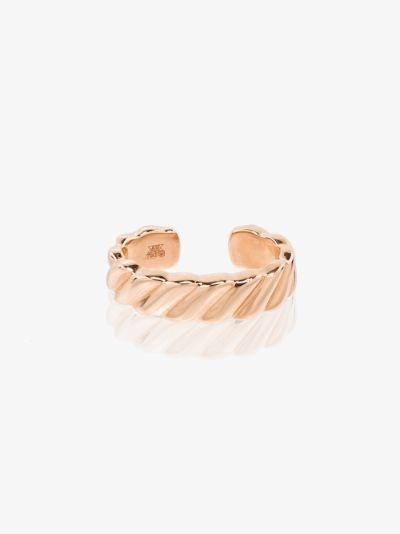 18K rose gold Orbit ear cuff