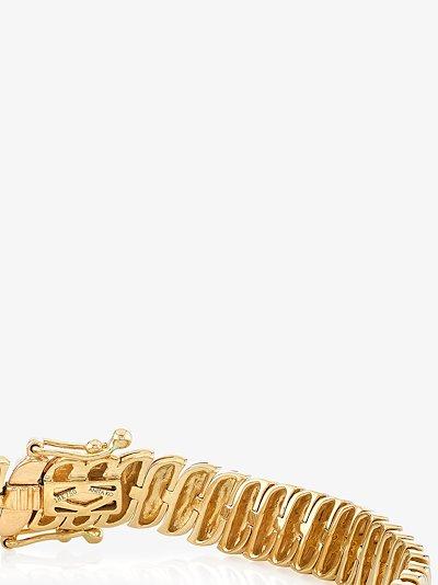18K yellow gold Zoe bracelet