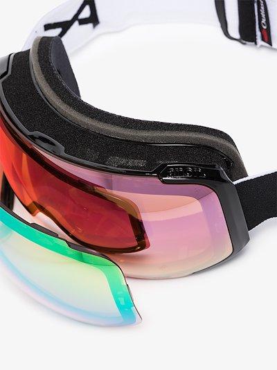 black M2 MFI ski goggles