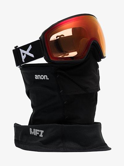 black M4 MFI Toric ski goggles