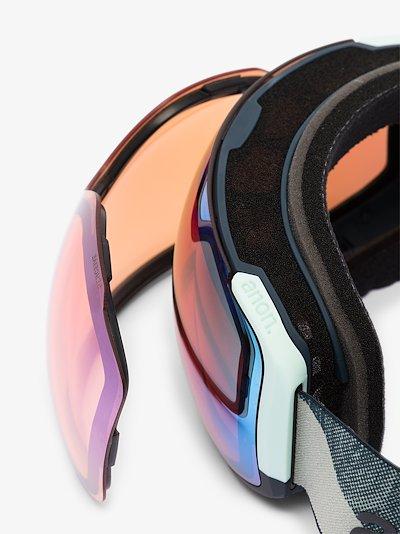 Multicoloured Sync ski goggles