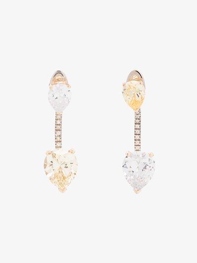sterling silver First Glance gemstone earrings