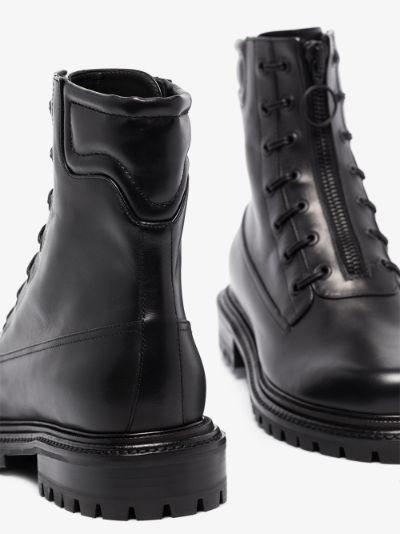Black Kicks leather boots