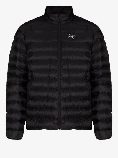 black Cerium SL padded jacket