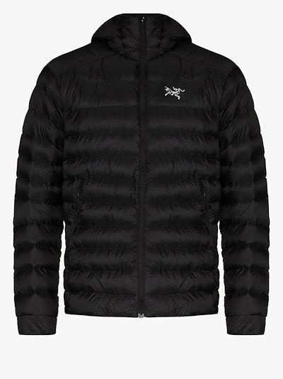 black Cerium SV padded jacket