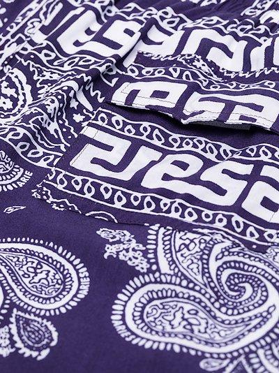 Bandana print Bermuda shorts