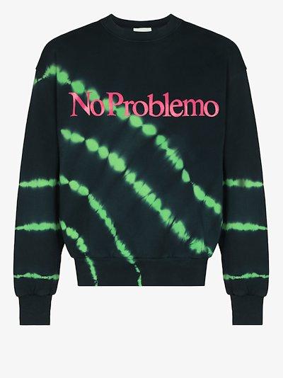 No Problemo tie-dye sweatshirt