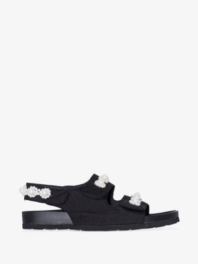 black apache pearl sandals