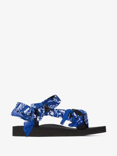 Blue Trekky bandana sandals