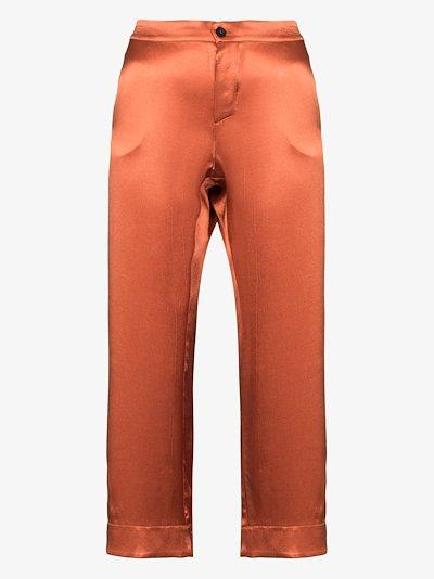 Antibes cropped pyjama bottoms