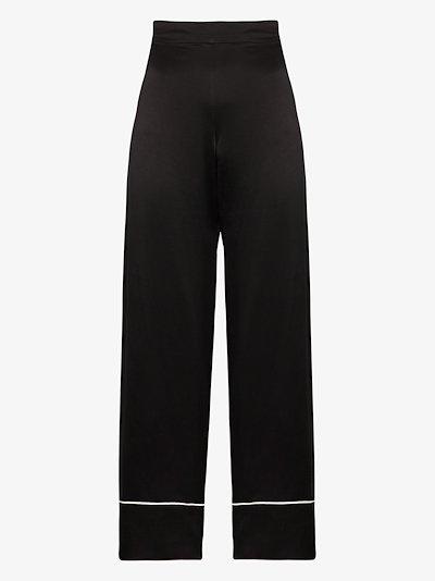 London silk pyjama bottoms