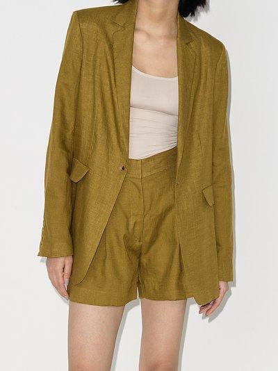 Madrid organic linen shorts