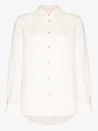 Milan organic linen shirt