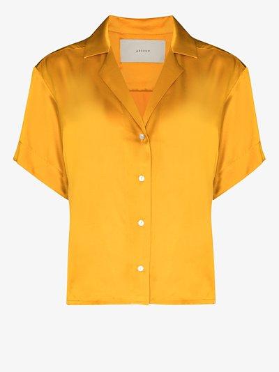 Prague silk shirt