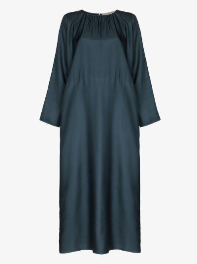 Rhodes silk maxi dress