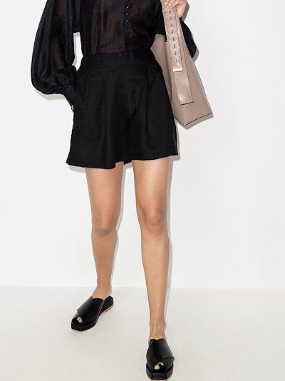Zurich linen shorts