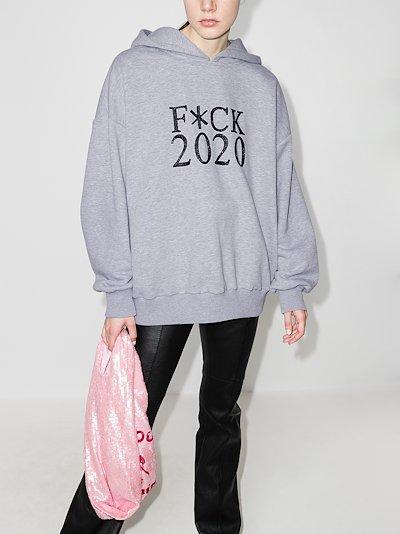 F*CK 2020 hoodie