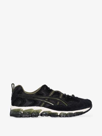 black and green Gel-Nandi 360 OG sneakers