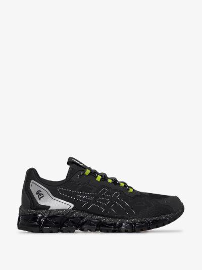 black and grey Gel-Quantum 360 6 sneakers