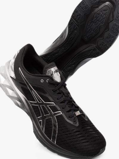 black Novablast Platinum sneakers