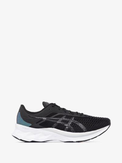 black Novablast running sneakers