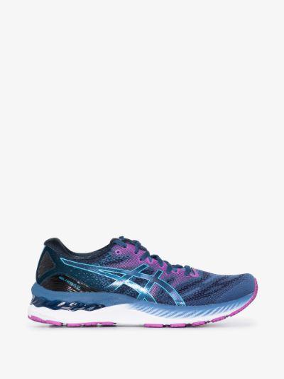 blue Gel-Nimbus 23 sneakers