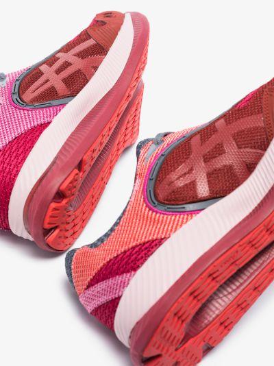 X kiko kostadinov red and pink Gel-Glidelyte III sneakers