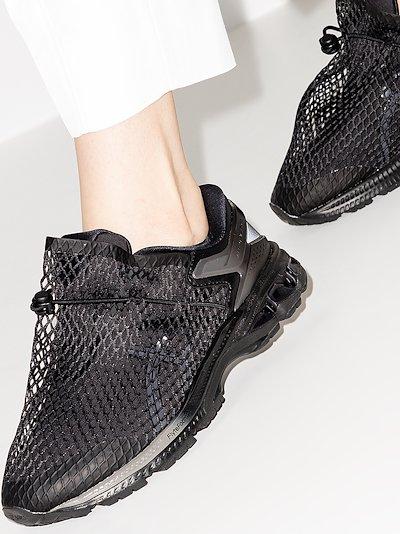 X Vivienne Westwood black Gel-Kayano 26 mesh sneakers