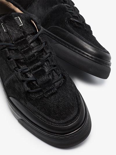 black Antiskate low top sneakers