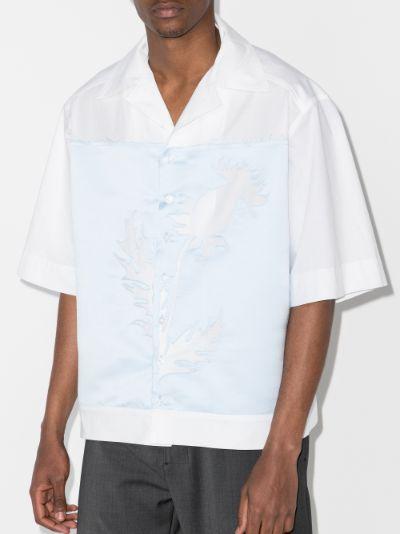 thistle cutout short sleeve shirt