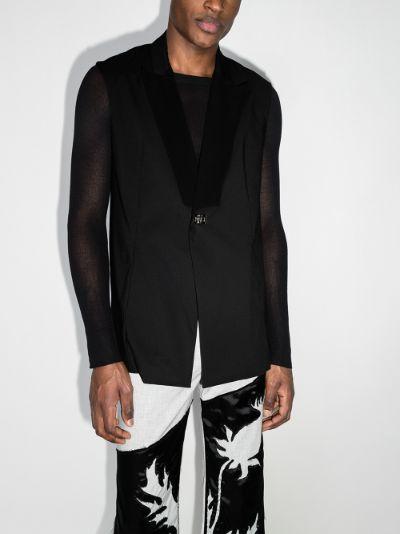 twist lock waistcoat