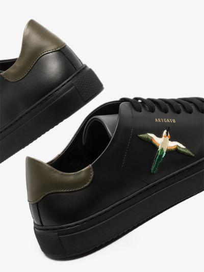 Black Clean 90 Bee Bird leather Sneakers