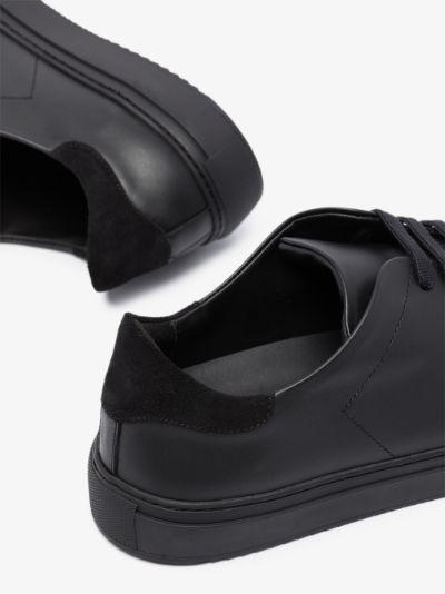black Clean 90 leather sneakers
