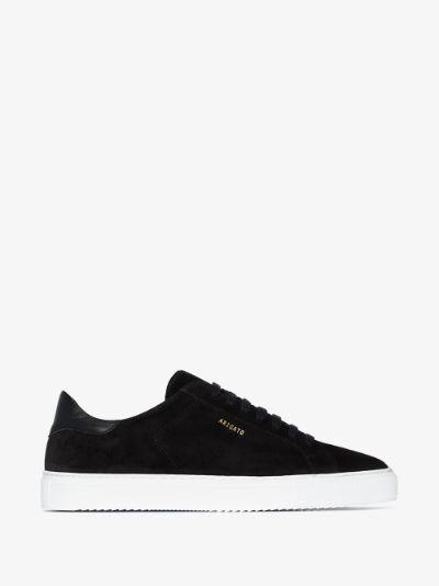 black Clean 90 suede sneakers