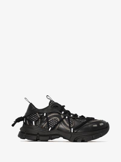 Black marathon R-web sneakers